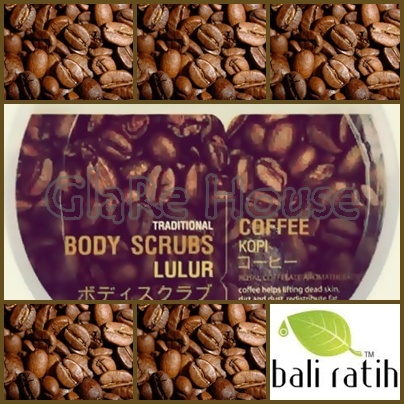 Bali Ratih Body Scrub Coffee