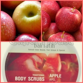 Bali Ratih Body Scrub Apple