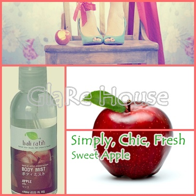 Bali Ratih Body Mist Apple