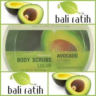 Bali Ratih Body Scrub Avocado