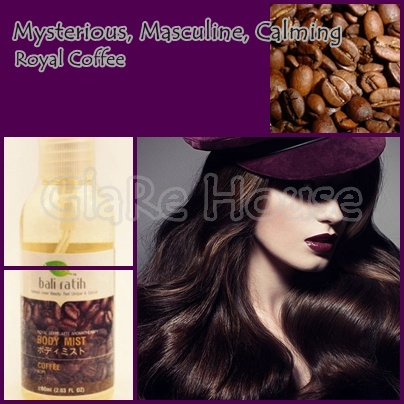 Bali Ratih Body Mist Coffee