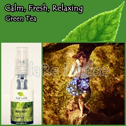 Bali Ratih Body Mist Green Tea