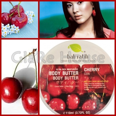 Bali ratih Body Butter Cherry