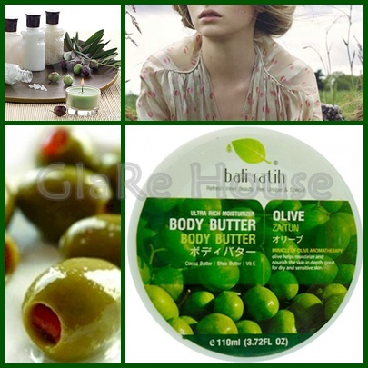 Bali Ratih Body Butter Olive