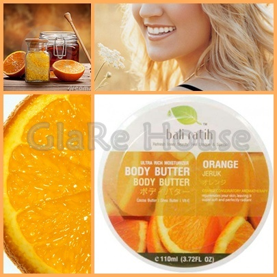 Bali Ratih Body Butter Orange