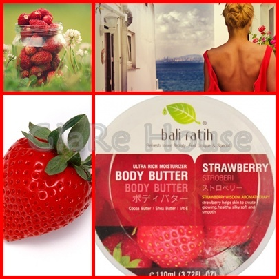 Bali Ratih Body Butter Strawberry