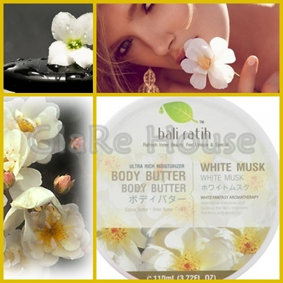 Bali Ratih Body Butter White Musk