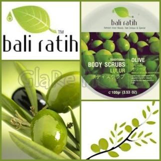 Bali ratih Body Scrub Olive