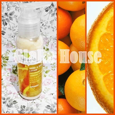 Bali Ratih Body Lotion Orange